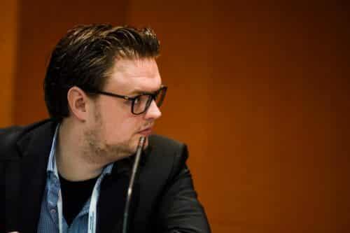 Michael Klos over vrijheid van meningsuiting op internet tijdens World Forum for Democracy op 7 november 2019